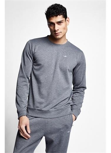 Lescon Koyu Grimelanj Erkek Sweatshirt 21S-1242-21N Gri